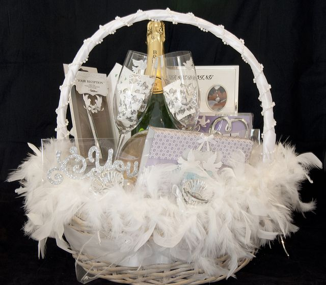 Wedding Gift Basket For Him : less formal and...white Gift Baskets Pinterest