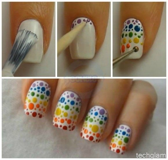16 Truly Awesome Nail Design Techniques - Easy Stripes | Guff