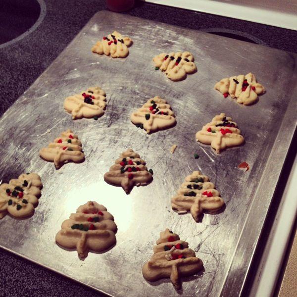 Classic Spritz Cookies | Jess Fuel - Dessert | Pinterest