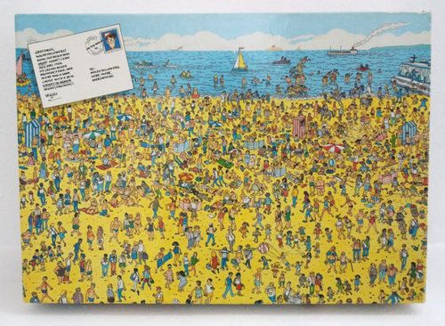 Wheres Waldo Puzzle - On the Beach