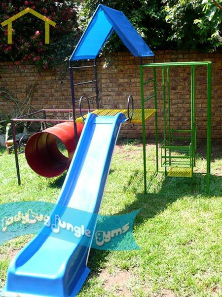 Pin by gaylann speegle on kids pinterest for Diy jungle gym ideas