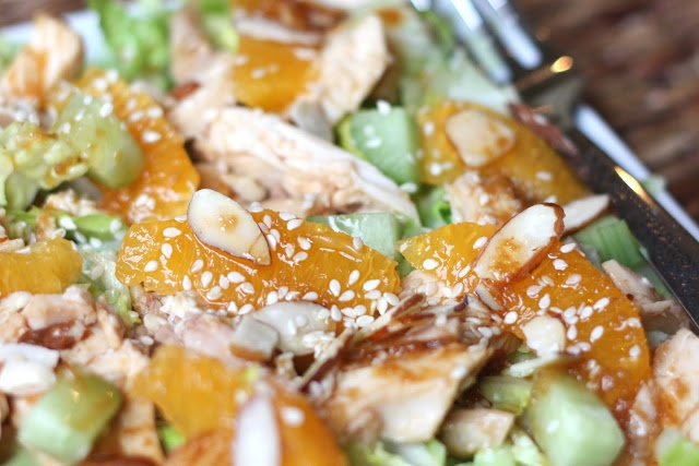 ... In The Kitchen: Chinese Chicken Salad with Ginger Sesame Dressing