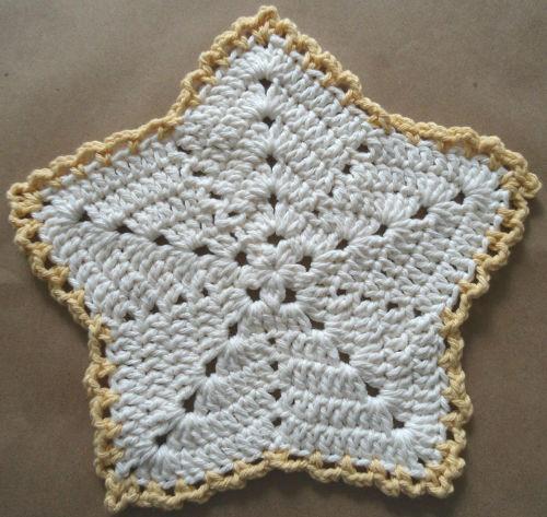 Free Crochet Starfish Dishcloth Pattern : starfish dishcloth crochet Pinterest