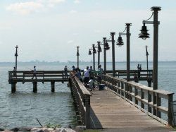 Pin by debbie donica on anchor pinterest for Fishing piers in va
