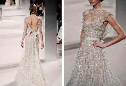 an Elie Saab.  robe de mariée  Pinterest