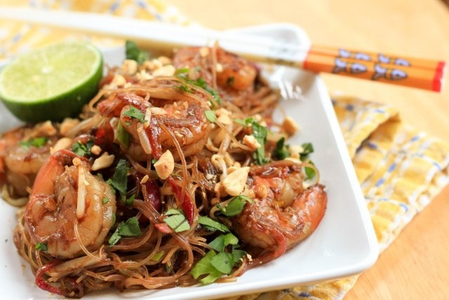 Shrimp pad Thai | Seafood Recipes | Pinterest