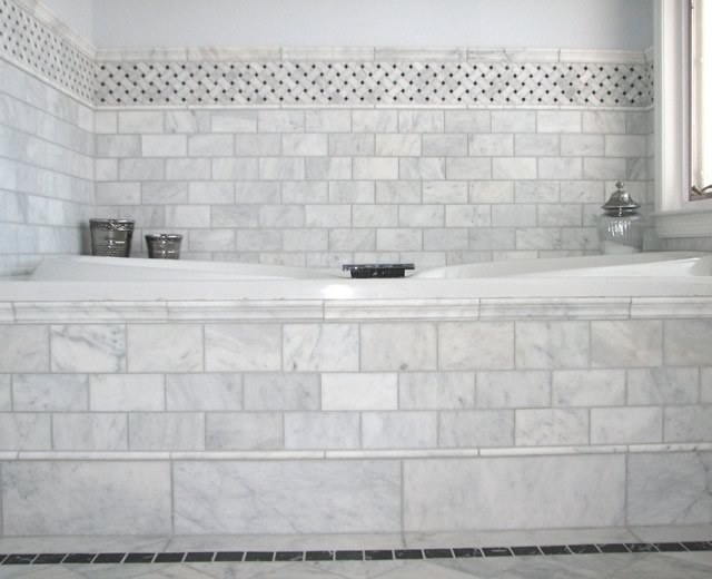 Bath Tub Tile Ideas Winter Project Pinterest