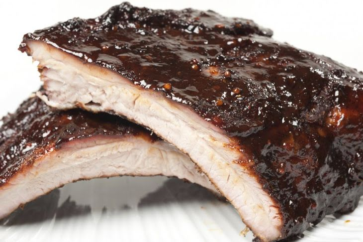 Barbecued Baby Back Ribs Recipe   This and That! Things that I love ...