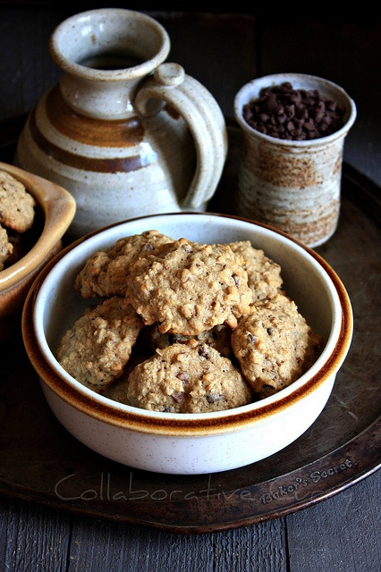Banana oatmeal chocolate chip cookie | Delicious | Pinterest