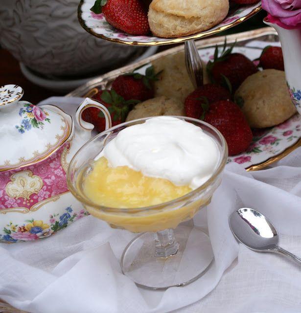 Microwave Lemon Curd | Tea Time Food | Pinterest