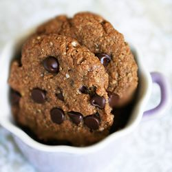 gluten-free golden, chewy cookie that resembles an oatmeal cookie ...