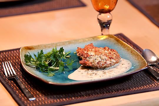 Hazelnut Crusted Chicken with Stealth Coconut