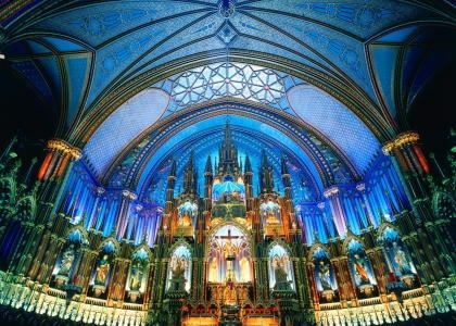 Dame Basilica, Montreal, Canada | Canadian Grants Business Cent