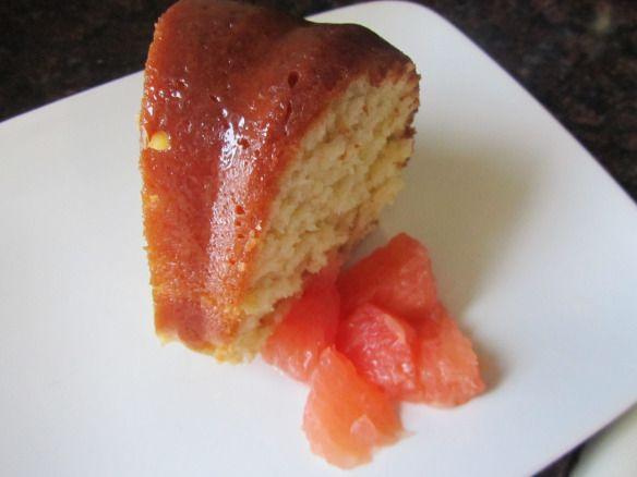 Honey glazed grapefruit bundt cake | Sweet... | Pinterest