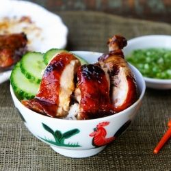 Chinese Roast Chicken Buns With Scallions And Spicy Hoisin ...