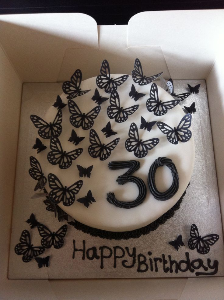 Cake Images For 30th Birthday : 30th birthday cake Girly girl things Pinterest