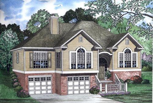 Split entry house split foyer remodel ideas pinterest for Split foyer home plans