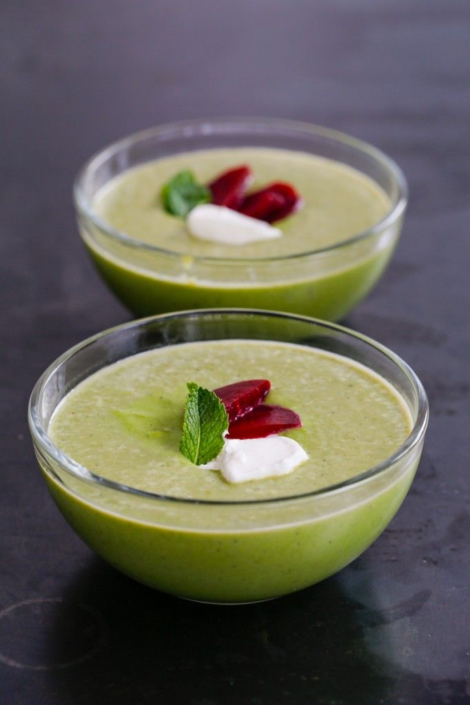 Chobani Yogurt -Our Blog -Chilled Summer Pea Soup - Chobani Yogurt