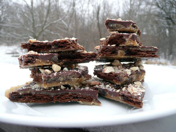 Chocolate Graham Toffee Crunch | Recipes - Candy bars | Pinterest