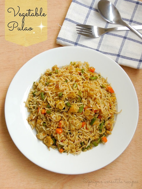 Vegetable Pulao | Sunday Lunch Ideas | Pinterest