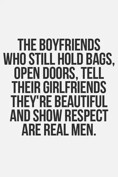 Real Men Treat Women With Respect Quotes Real men respect women...