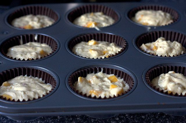 Peach Cupcakes With Brown Sugar Frosting Recipes — Dishmaps