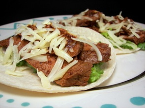 Chile-Rubbed Steak Tacos | Simple Suppers | Pinterest