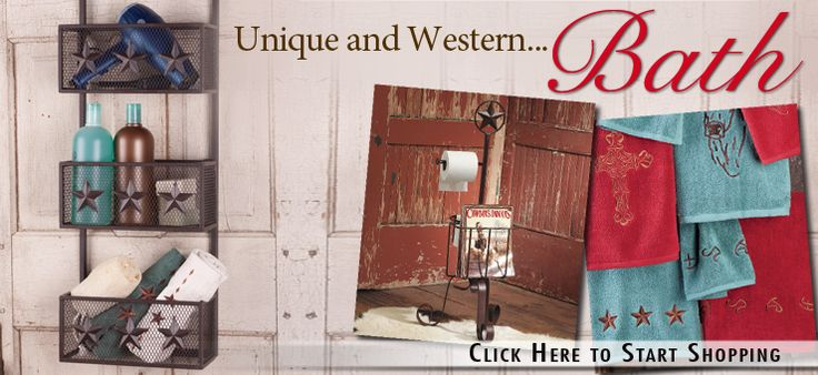 Shop Western Bath Accessories and Decor