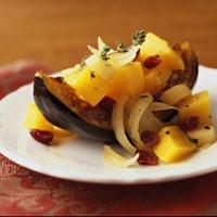 Braised Parsnips, Squash, and Cranberries   Recipe