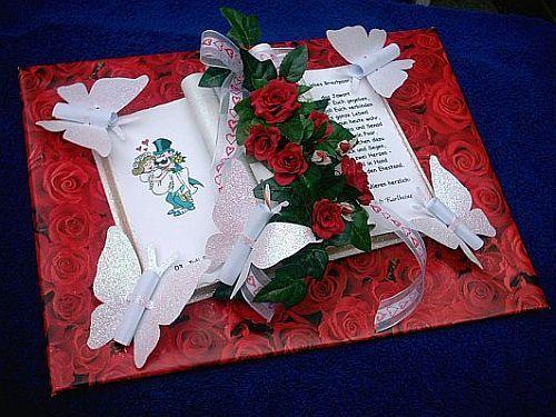 Hochzeit geschenk  RAVISHING RED!!!  Pinterest