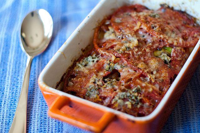 Summer Vegetable Gratin source: Cook's Illustrated serves 6-8 as a ...