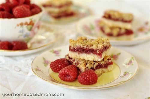 Raspberry Streusel Bars | Sweets | Pinterest
