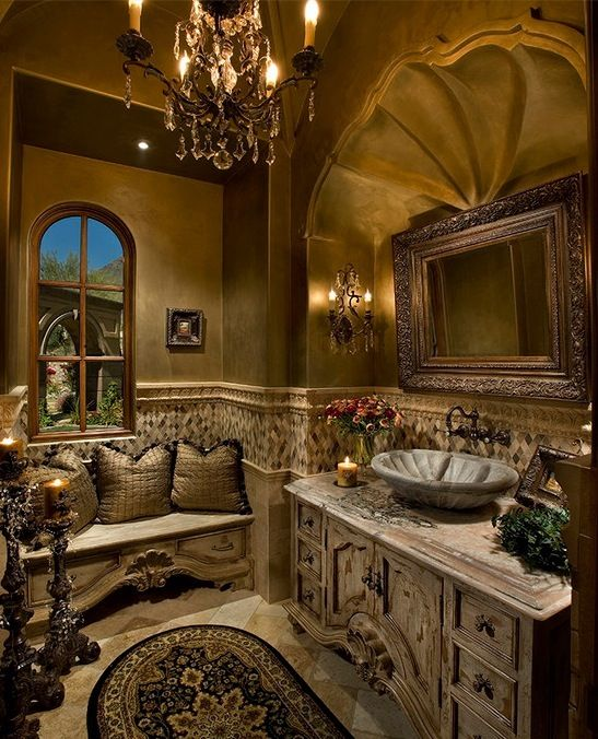 French country bathroom home stuff pinterest for A bathroom in french