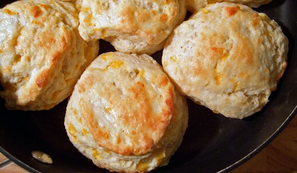 Moist Garlic Cheddar Biscuits | Breads, Rolls, Butters & More | Pint ...