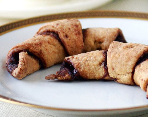 Gluten Free Chocolate Rugelach | the christmas cookie exchange ...