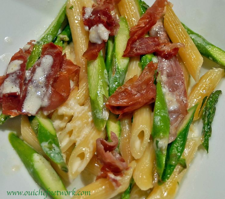 with asparagus and prosciutto recipes dishmaps penne with asparagus ...