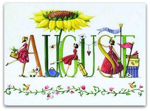 Happy August.