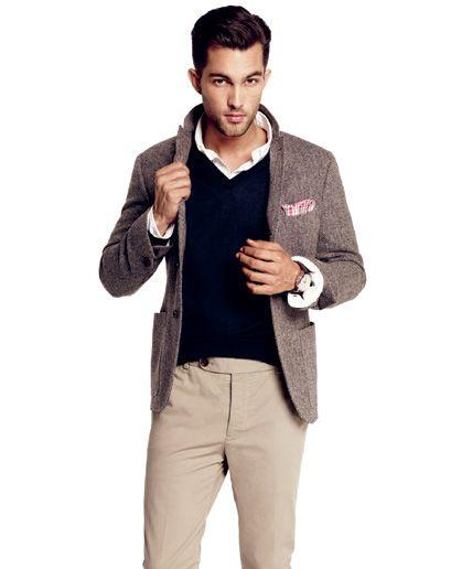 GQ Fall Tweed Sport Coat #mens #fashion #fall #gentlemen #classy #sexy ...