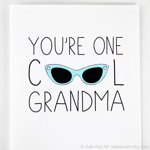 Mothers day card for grandma grandma card you 39 re one for Sweet things to say to your grandma