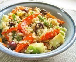 Easy Quinoa Salad | Food | Pinterest