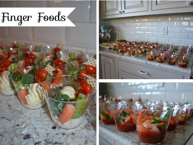 finger foods baby m shower pinterest