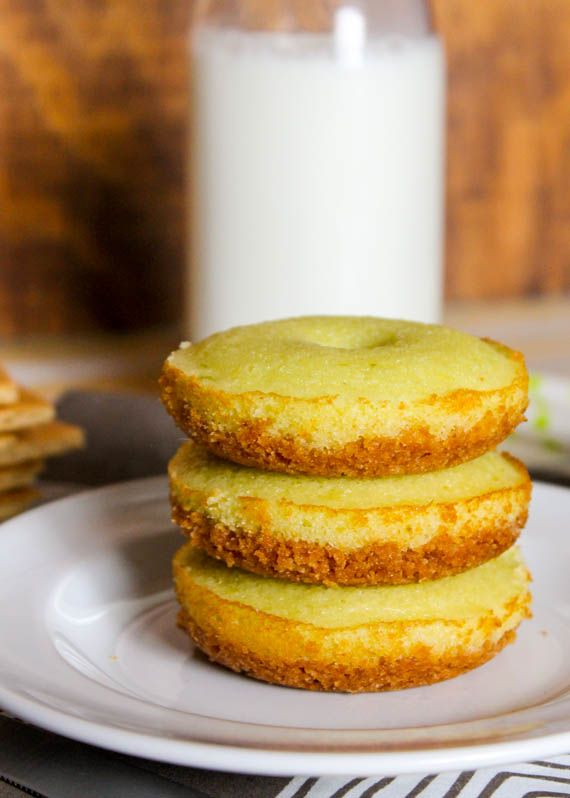 ... with the smooth key lime donut just like a real classic key lime pie
