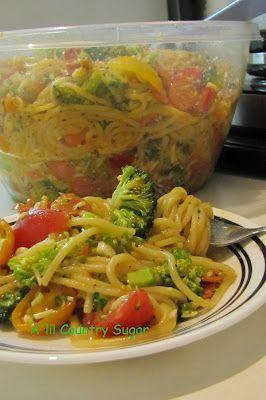 Spaghetti Salad at A'lil Country Sugar
