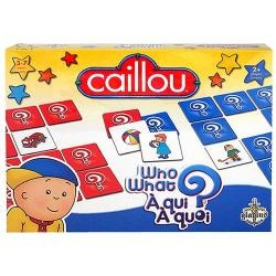 caillou games memory index.