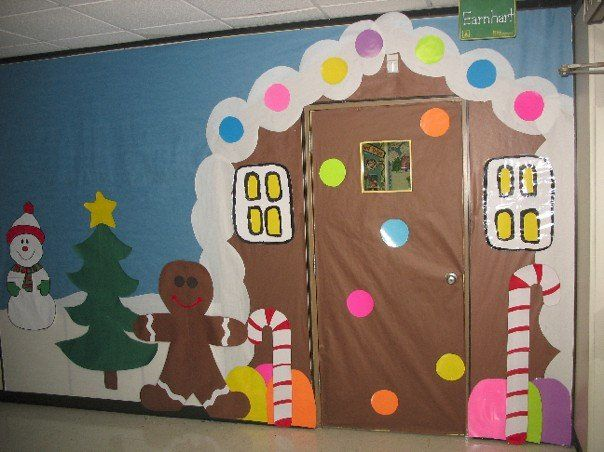 Christmas School Hallway Decorations