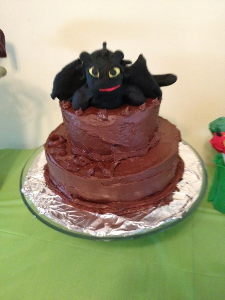 Cake Design Dragon Trainer : Toothless How to Train Your Dragon Cake. Beautiful cake ...