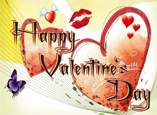 happy valentine day picture sms