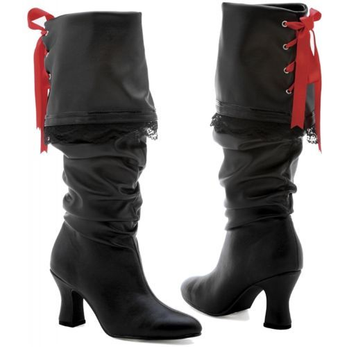 Fantastic Womens Sexy Buckle Pirate Boots  Sexy Womens Pirate Costume