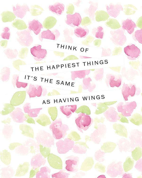peter pan printable quote | peter loves jane. Disney Quotes Peter Pan, Happiest Things, Pan Printables, Disney Happy Quo...