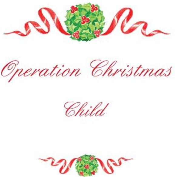 Operation Christmas child logoOperation Christmas Child Logo